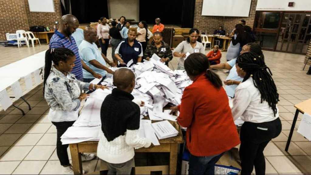 Afrique du Sud: l'ANC en tête des législatives, selon des résultats partiels