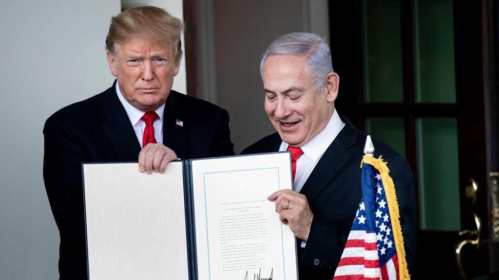 Netanyahu : Un site pour une colonie Trump sur le Golan occupé a été trouvé