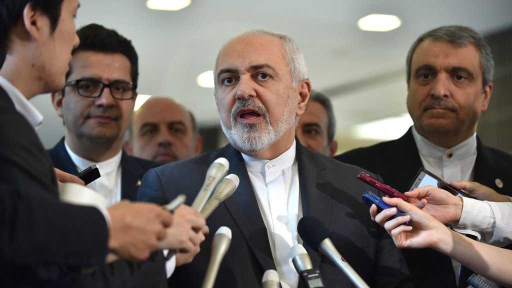 L'escalade provoquée par les Etats-Unis est «inacceptable», affirme Zarif