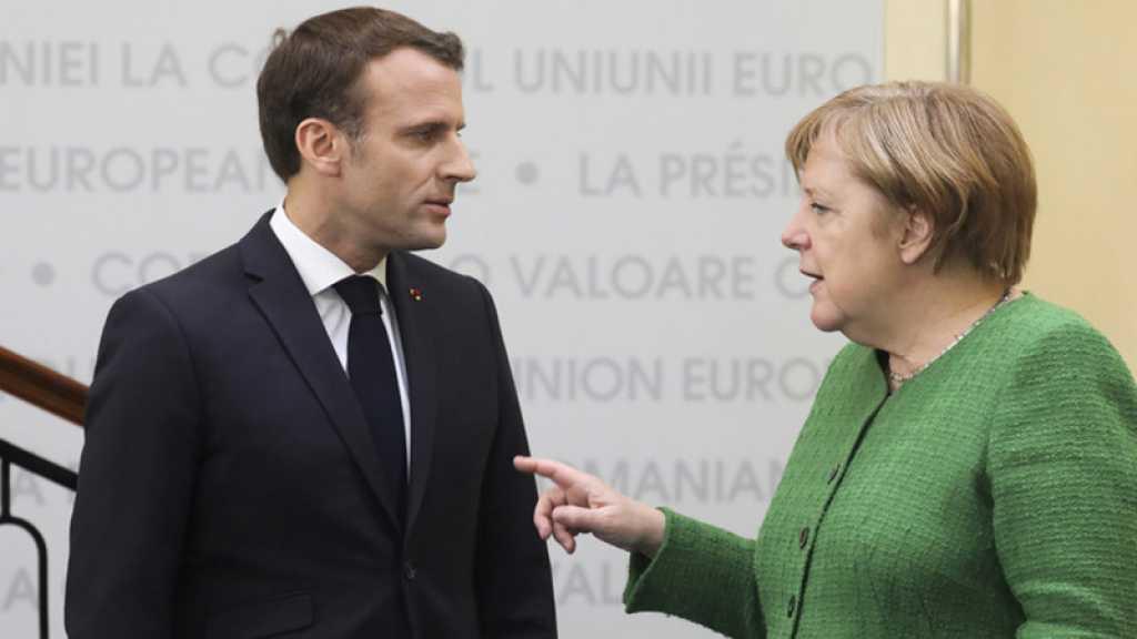 Européennes: Angela Merkel admet avoir des «confrontations» avec Emmanuel Macron