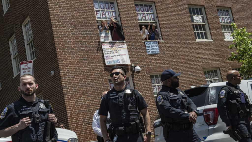 Evacuation des pro-Maduro de l'ambassade à Washington: opération illégale en droit international