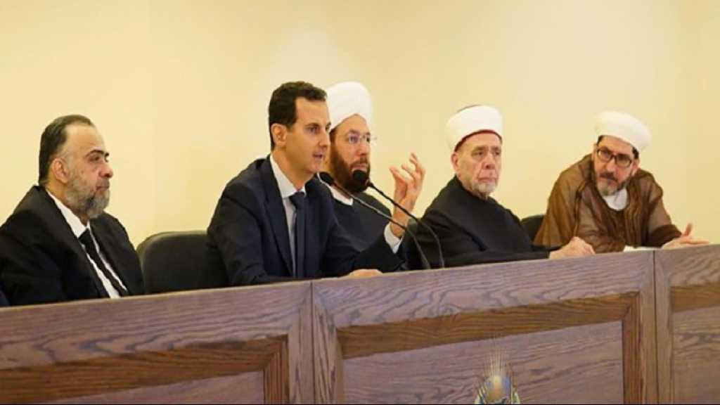 Assad accuse le wahhabisme d'être la source de l'extrémisme en Syrie