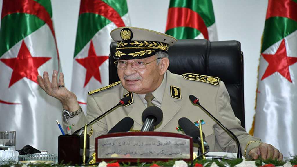 Algérie: le chef d'état-major de l'armée assure n'avoir «aucune ambition politique»