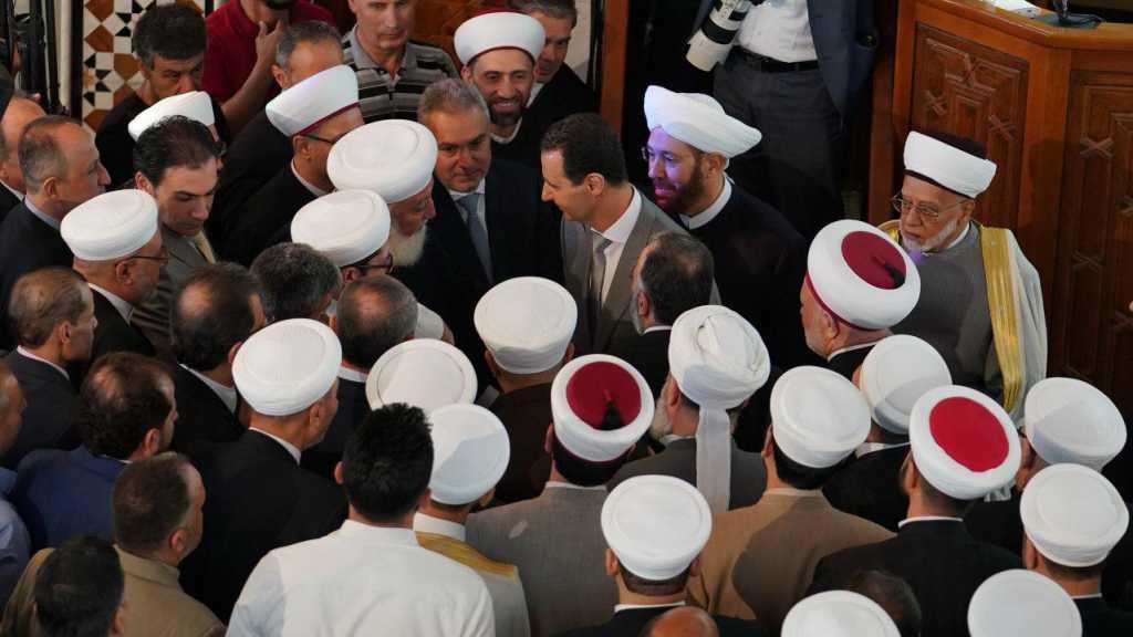 Assad fait la prière de l'Aïd d'al-Fitr à Damas