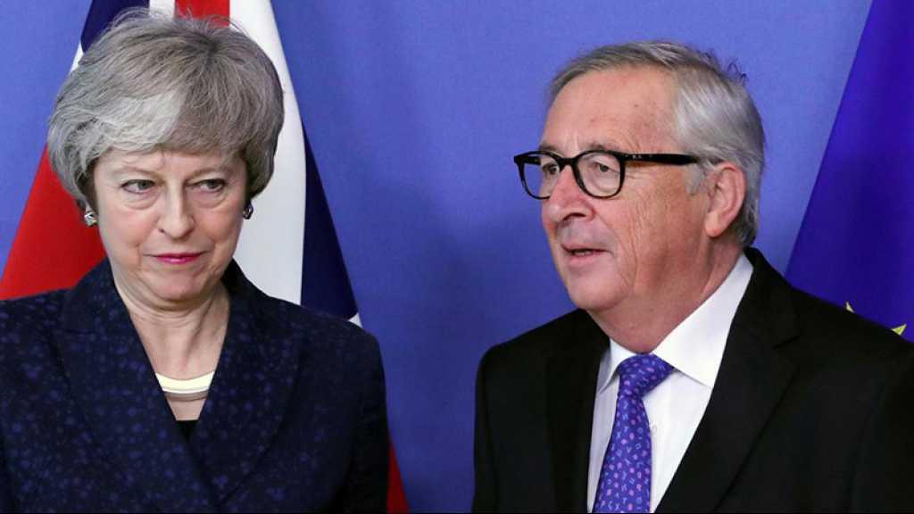 L'accord de Brexit «ne sera pas renégocié» avec le successeur de May, dit Juncker