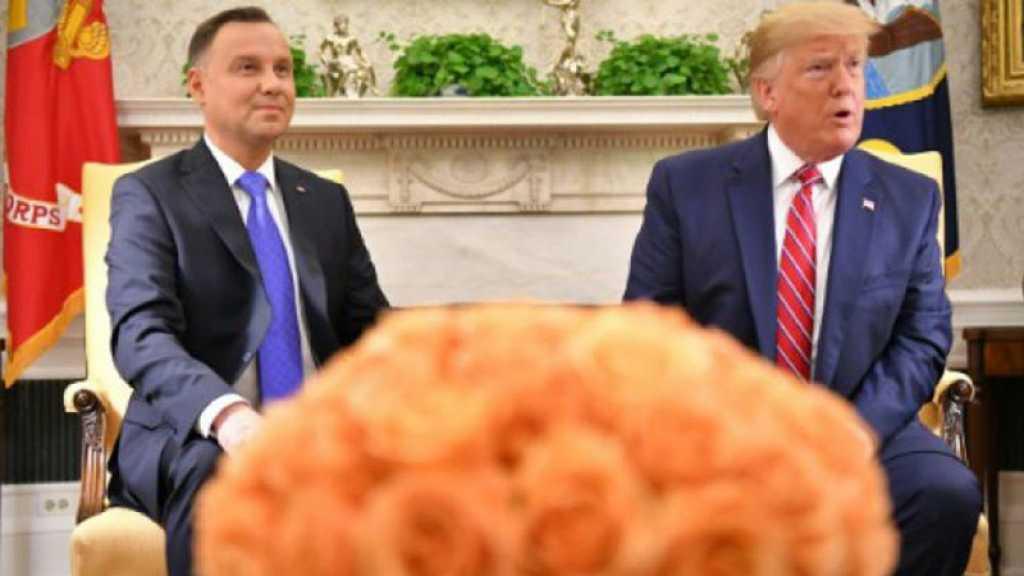 Trump évoque l'envoi de 2.000 soldats américains supplémentaires en Pologne