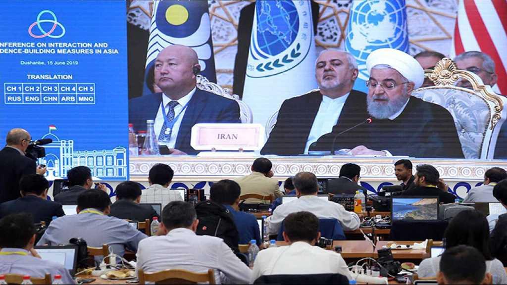 «Téhéran doit poursuivre son retrait progressif de l'accord nucléaire», dit Rohani