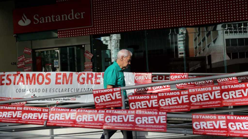 Brésil: grève générale contre la réforme des retraites de Bolsonaro