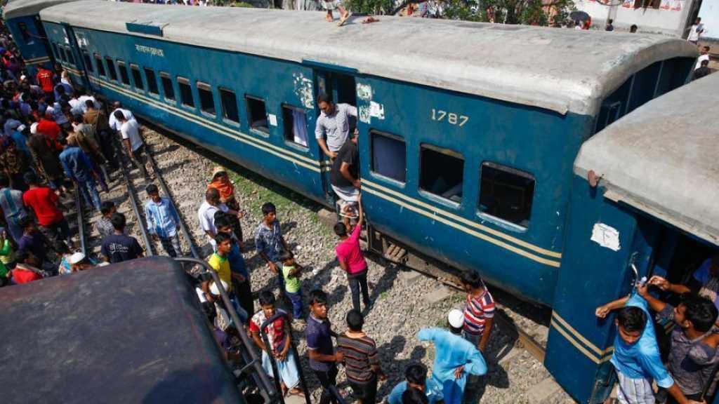 Bangladesh: quatre morts et 100 blessés dans un déraillement de train
