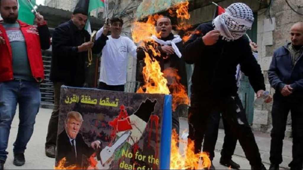 Deal du siècle: des protestations de par la Palestine occupée, grève générale à Gaza