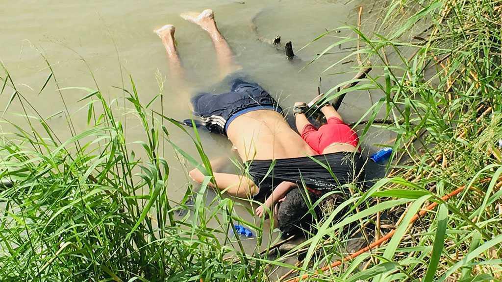 Un Salvadorien et  sa fille morts noyés en tentant de rejoindre les États-Unis