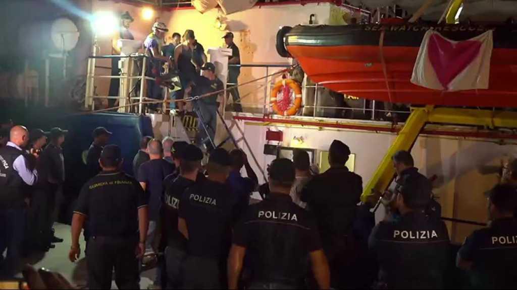 Italie: la capitaine du Sea-Watch arrêtée après avoir accosté de force à Lampedusa