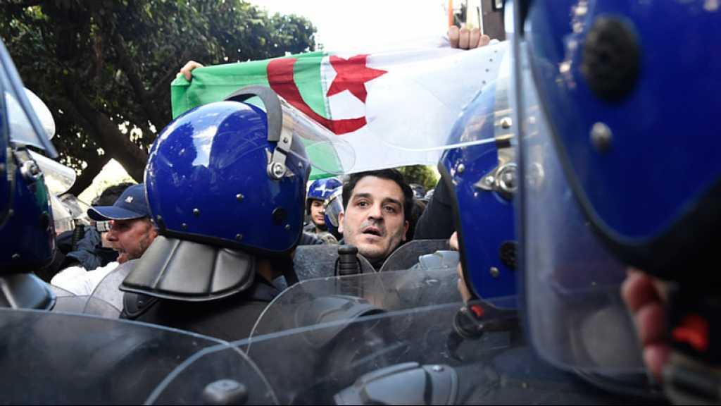 Début de manifestations à Alger, important dispositif policier