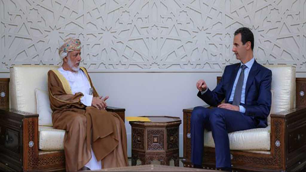 Le ministre omanais des AE à Damas pour de rares entretiens avec Assad