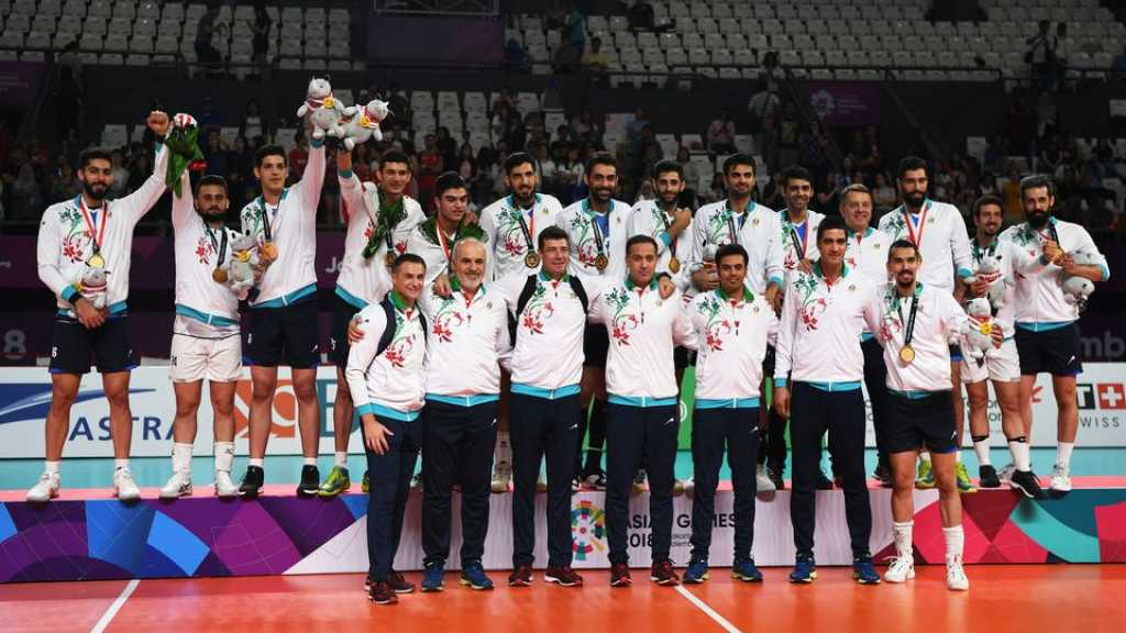 L'Iran proteste contre la «détention» de son équipe de volley à Chicago