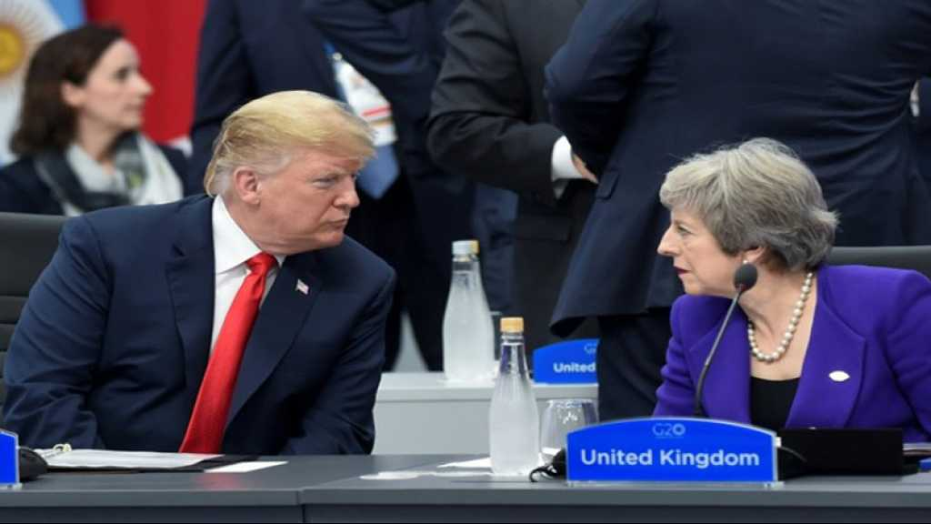 Trump attaque May, tempête diplomatique entre Washington et Londres