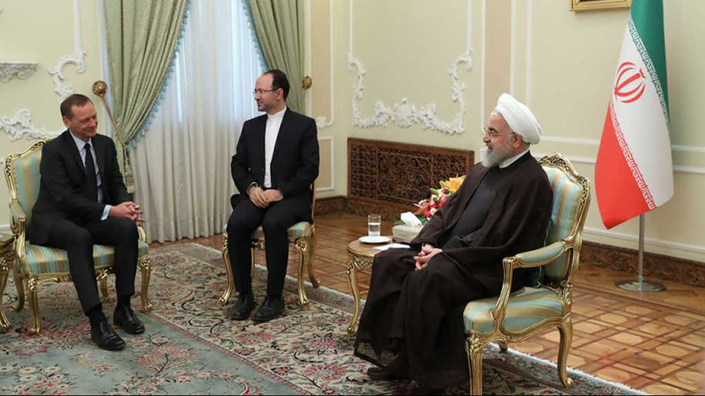 Emissaire français en Iran: Rohani répond à Macron