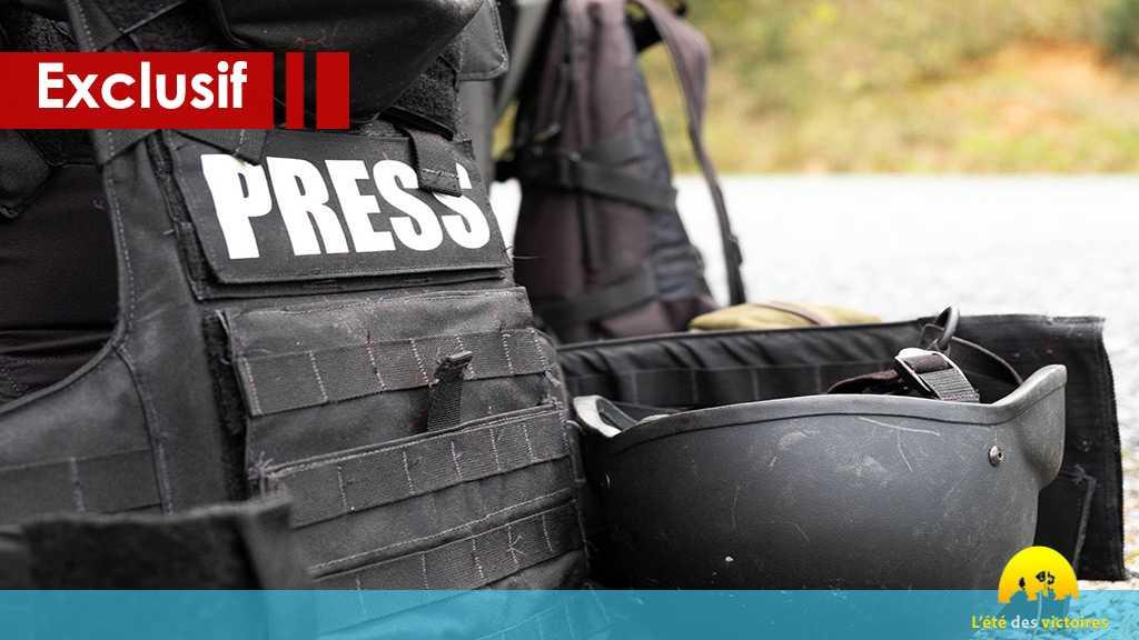 Les journalistes au front... entre la victoire de juillet et celle du Jouroud ?