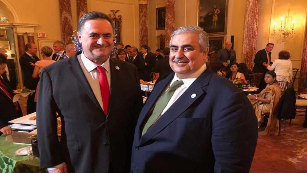 Le «ministre israélien des AE» rencontre son homologue bahreïni à Washington