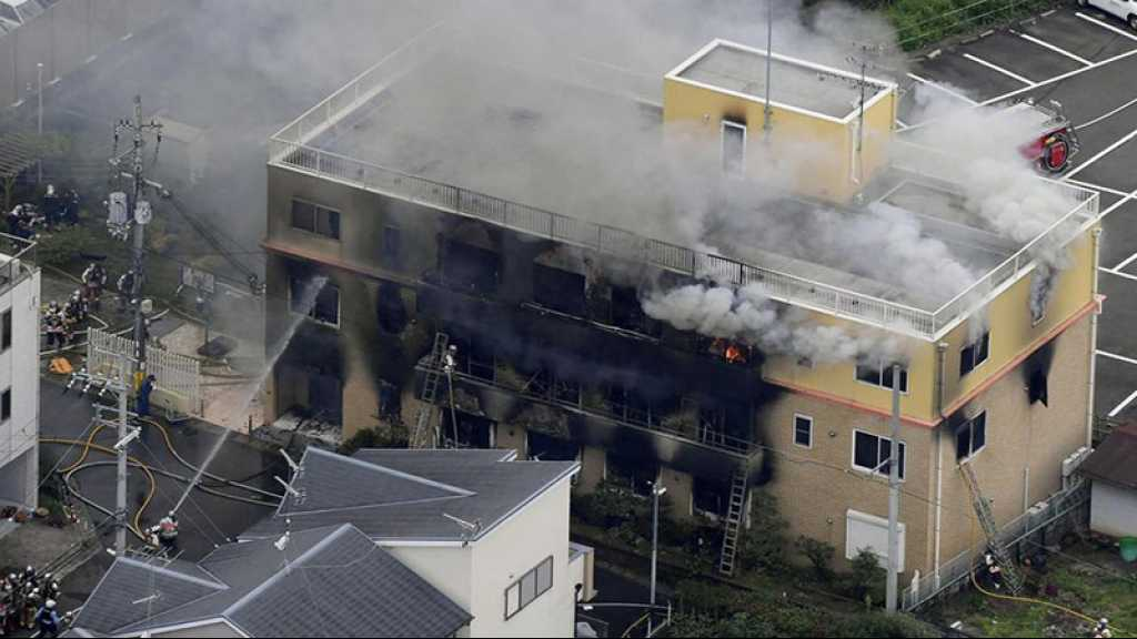 Japon: la police confirme la piste criminelle dans l'incendie du studio d'animation