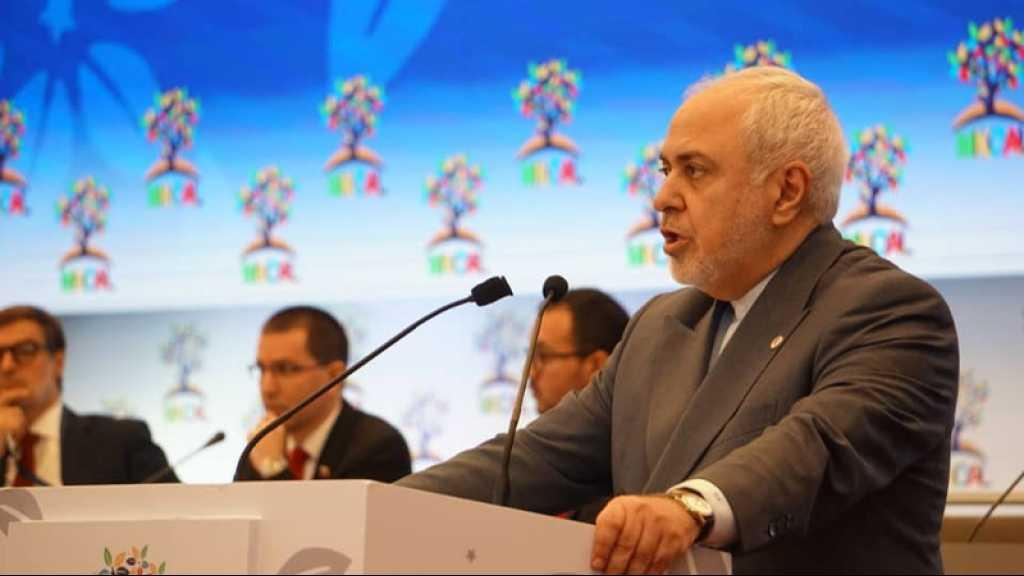 Zarif dénonce «l'unilatéralisme» et le «terrorisme économique» des Etats-Unis