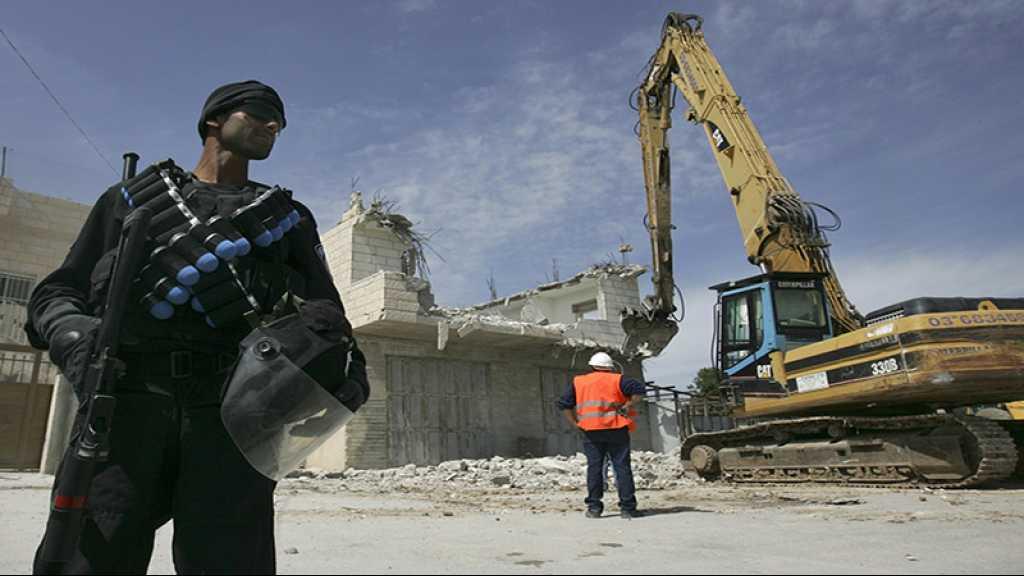 «Israël» commence la démolition de maisons palestiniennes près d'al-Qods occupée