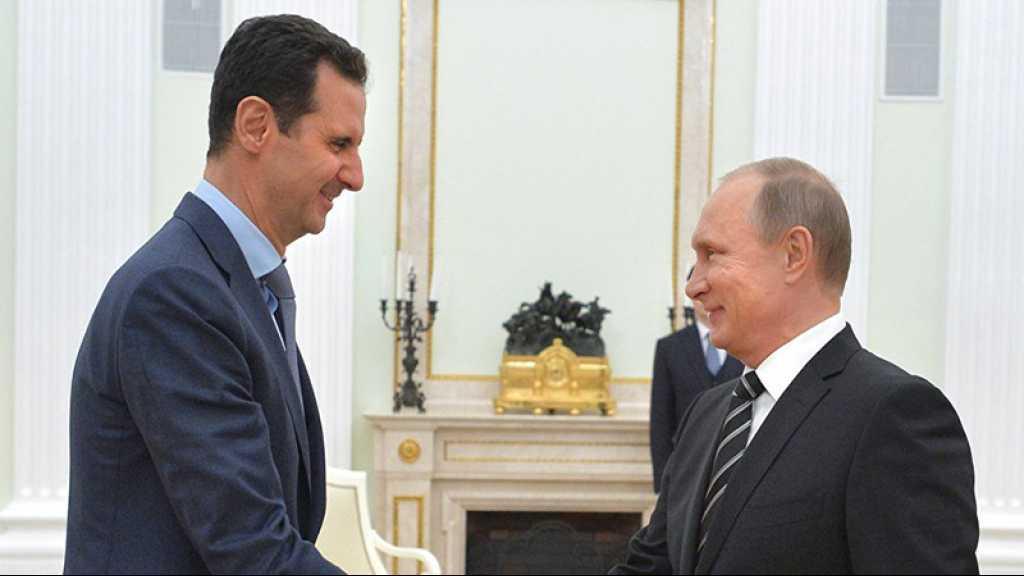 Assad livre son évaluation de l'état des relations russo-syriennes