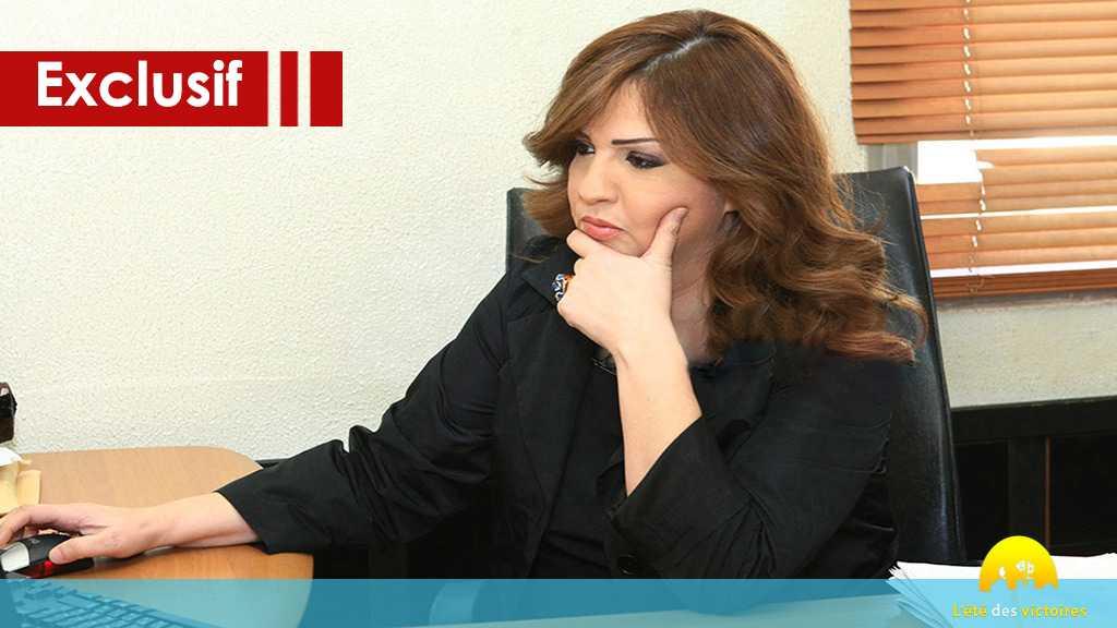 La première interview de sayed Nasrallah après la guerre de juillet, Maryam Al-Bassam n'avait ni papier ni crayon