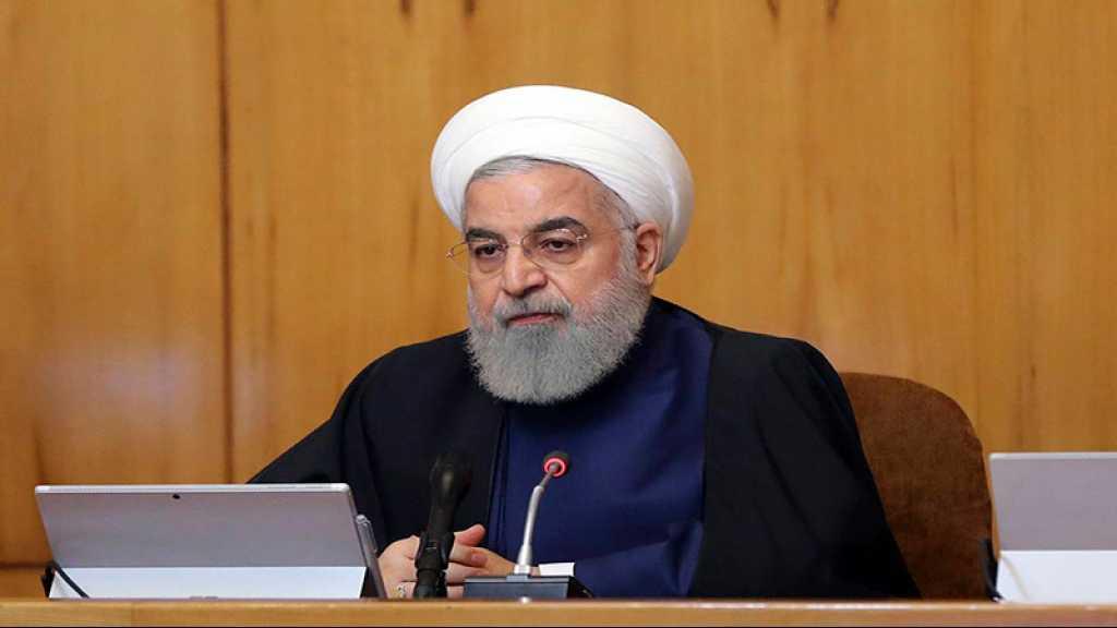 Rohani: L'Iran ne permet à quiconque de déstabiliser le Golfe, reste prêt à des négociations «justes»