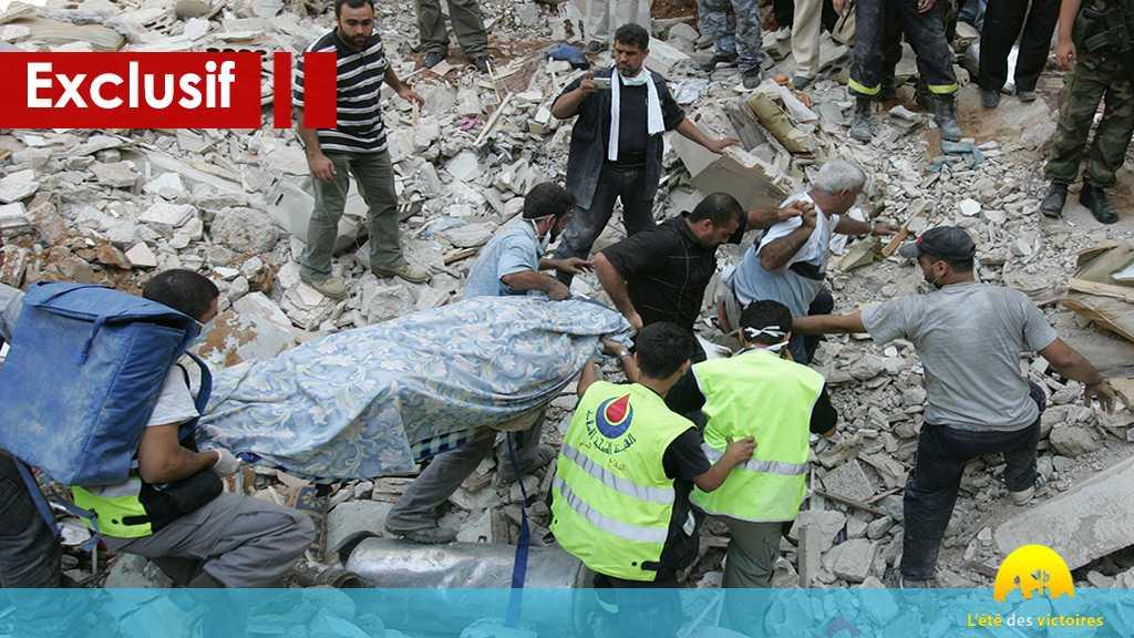 Des ambulanciers paramédicaux au front... l'organisation sanitaire islamique un remède pour les victimes de juillet 2006