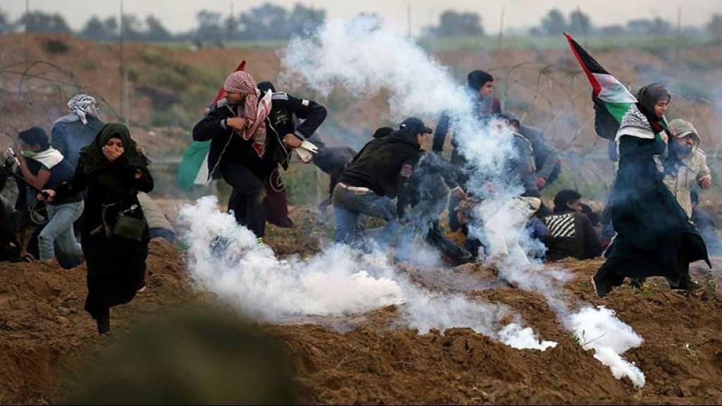 Gaza: affrontements à la frontière, un martyr et 56 blessés palestiniens
