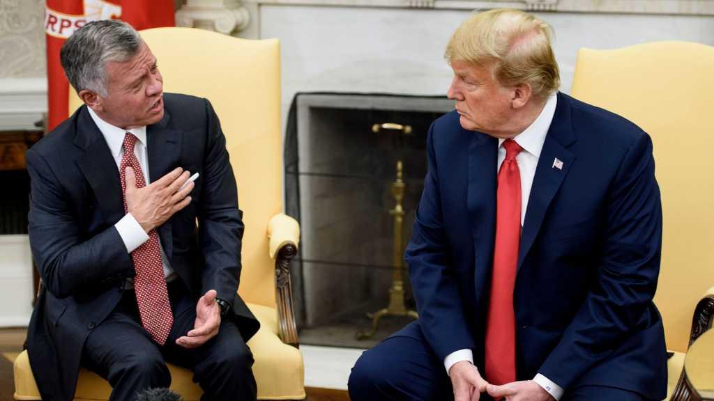 Le futur plan américain, «l'enfer pour la Jordanie»