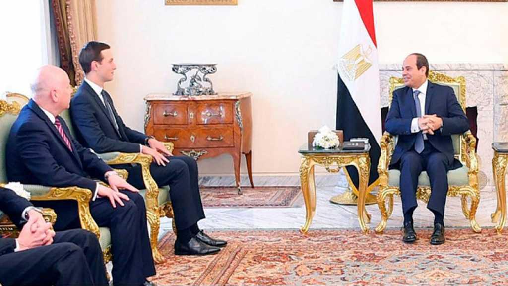 «Le Sinaï ne fera jamais partie du plan de paix israélo-palestinien de Trump», dit Sissi