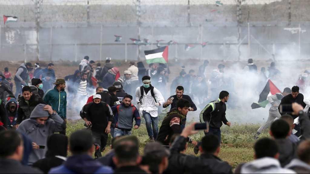 Gaza: 6000 manifestants à la frontière, 37 blessés