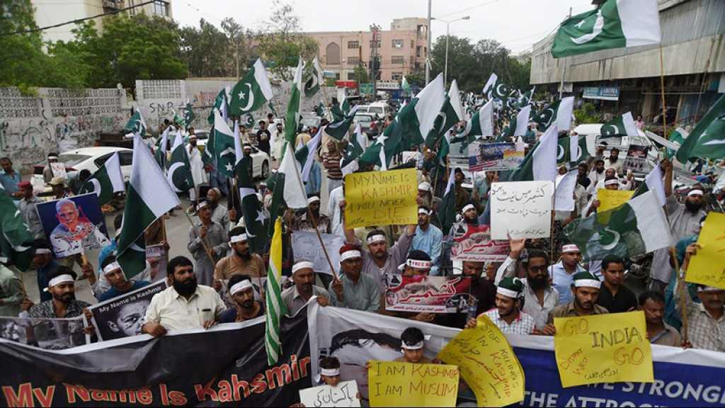 Cachemire: le Pakistan veut recourir aux instances internationales
