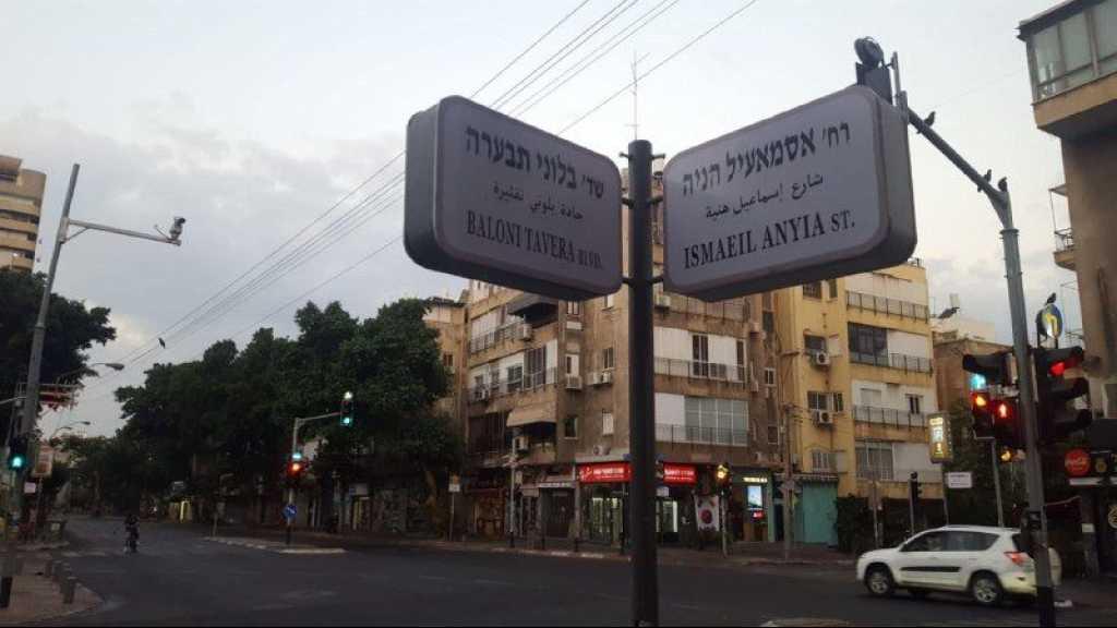 Des rues de «Tel Aviv» rebaptisées «Yasser Arafat», «Ismaïl Haniyeh» ou encore «ballons incendiaires»