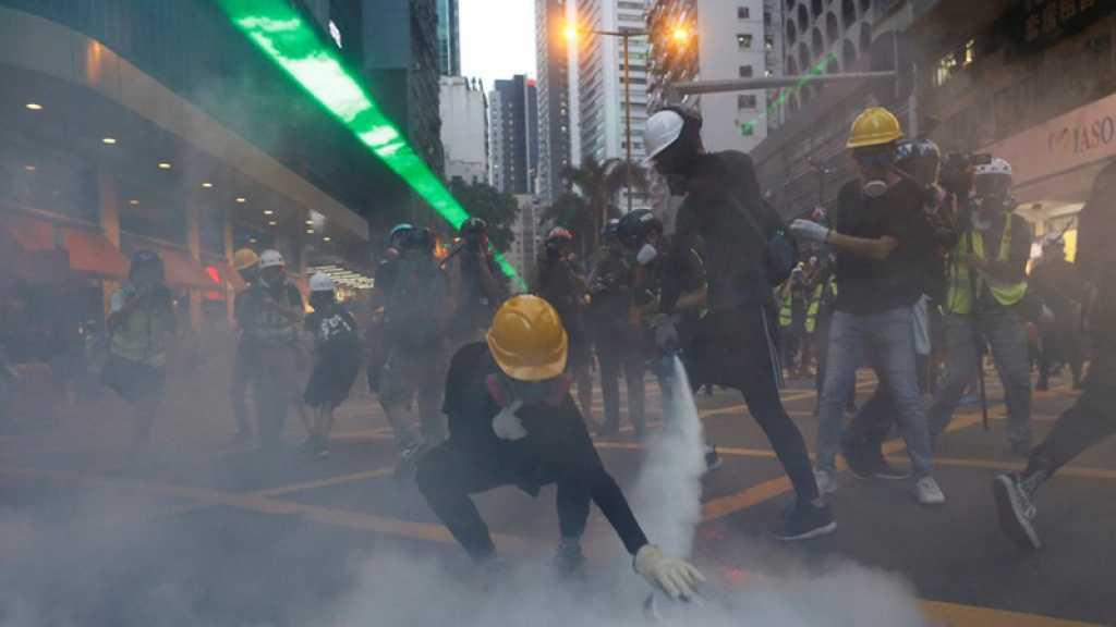 Manifestations à Hong Kong : la Chine épingle des « premiers signes de terrorisme »
