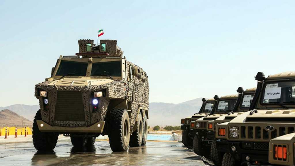 L'Iran dévoile de nouveaux véhicules blindés tactiques polyvalents