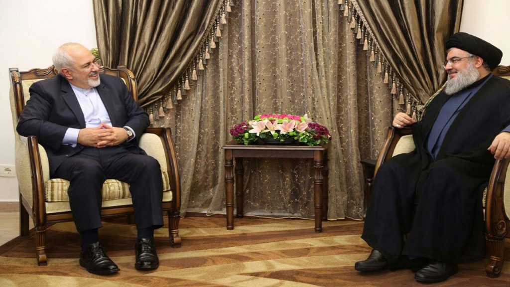 Sayed Nasrallah dans un télégramme à Zarif: «Ils ont voulu vous assiéger, mais vous êtes devenu plus fort»
