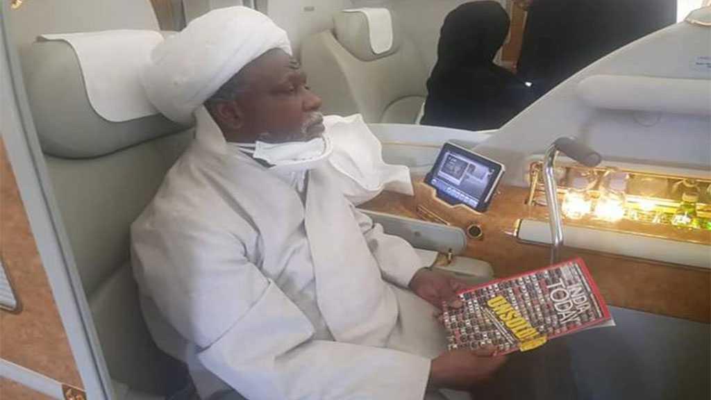 Le cheikh Zakzaky, Leader du MIN, retourne au Nigéria