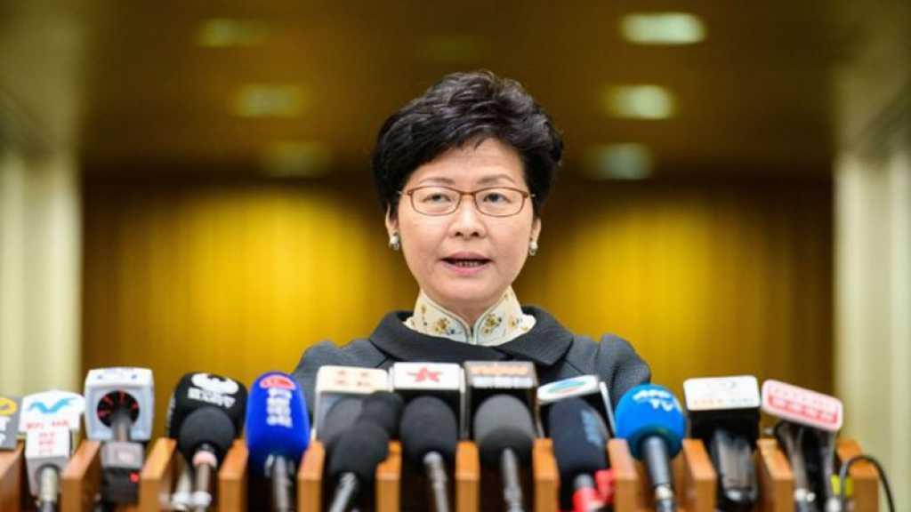 Hongkong : la cheffe de l'exécutif espère un « retour au calme »
