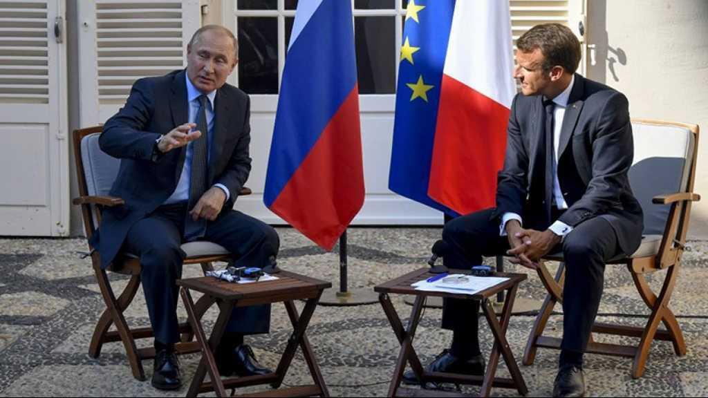 Idleb: «La Russie soutient l'armée syrienne contre les terroristes», affirme Poutine devant Macron