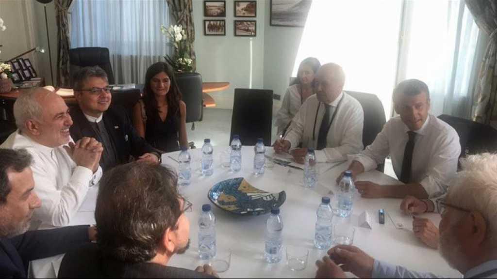 G7: les discussions avec Zarif sont «positives» et «vont se poursuivre», affirme Paris