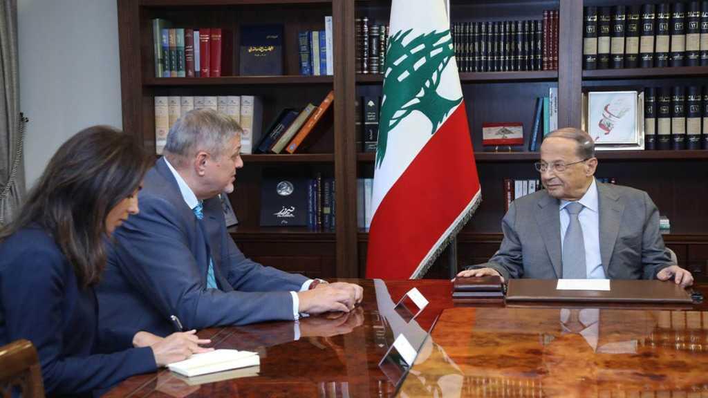Attaques israéliennes contre le Liban: le président Aoun parle d'une «déclaration de guerre»