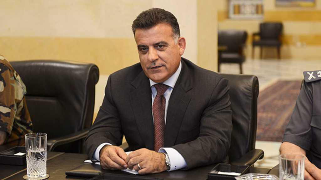 Liban: Le directeur de la Sûreté salue les efforts de son département contre les menaces «israélienne et takfiriste»