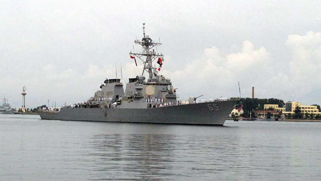 Un navire de guerre américain interdit d'accès dans le port de Qingdao en Chine