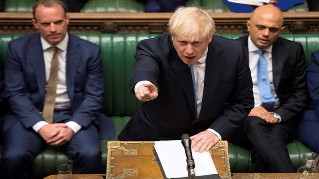 GB: Boris Johnson confirme la suspension du Parlement jusqu'au 14 octobre