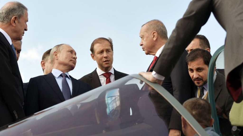 Moscou et Ankara négocient la livraison de chasseurs russes Su-57, annonce Erdogan