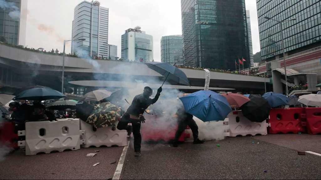 Manifestations à Hong Kong: des actions dans le métro et près des lycées
