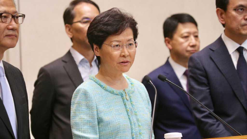 Hong Kong: la cheffe de l'exécutif dément avoir l'intention de démissionner
